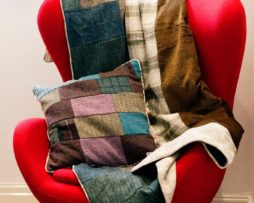 Gentleman Explorer Quilt. The Shackleton Harris Tweed quilt.