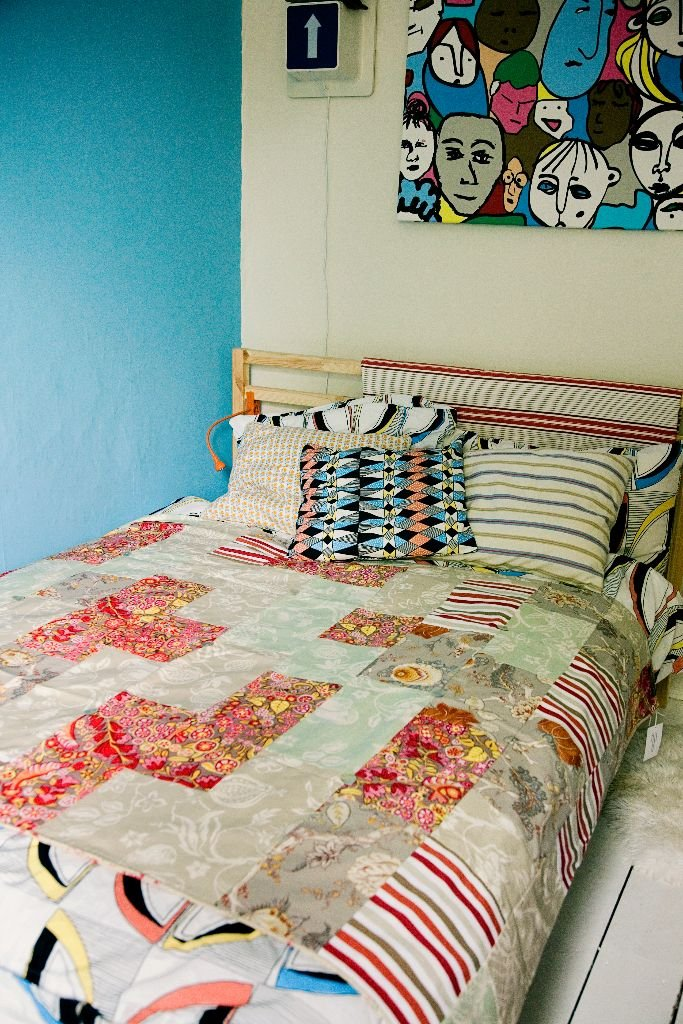The Original Summery Cotton Double Bed Size Patchwork Quilt