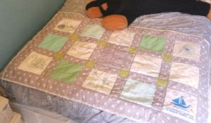Finished baby quilt commission