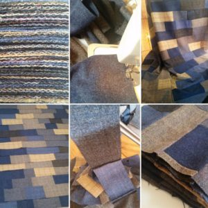 Quilt making process