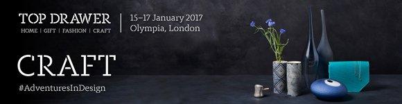 Top Drawer-Craft 2017 logo #AdventuresInDesign http://www.topdrawer.co.uk/