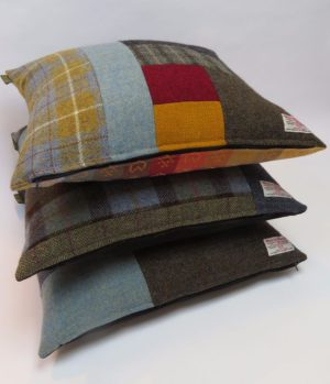 50cm square cushions look great on the sofa