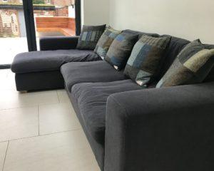 Greys & Browns Harris Tweed Cushion Commission