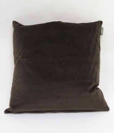 Mole velvet cushion back, although you can reverse these cushions if you so wish!