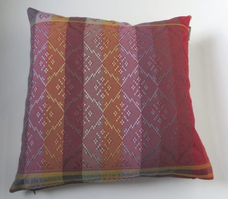 Now Harris Tweed patchwork cushions are available in a even wider selection of fabulous Folklore Fabric.