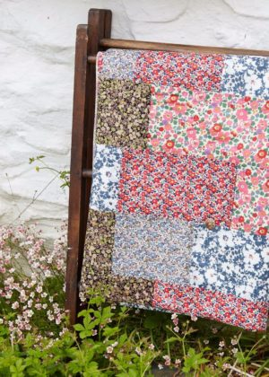 Liberty of London Tana Lawn summery quilt