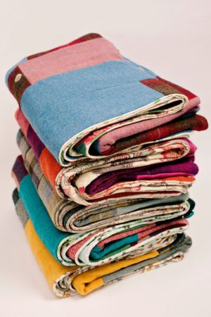 There are five distinctly British Harris Tweed quilts to choose from
