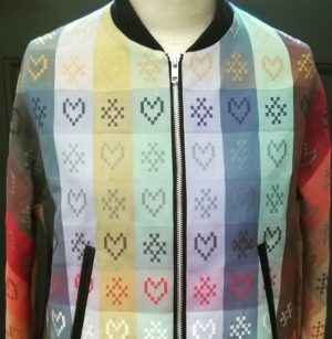 Folklore fabric jacket