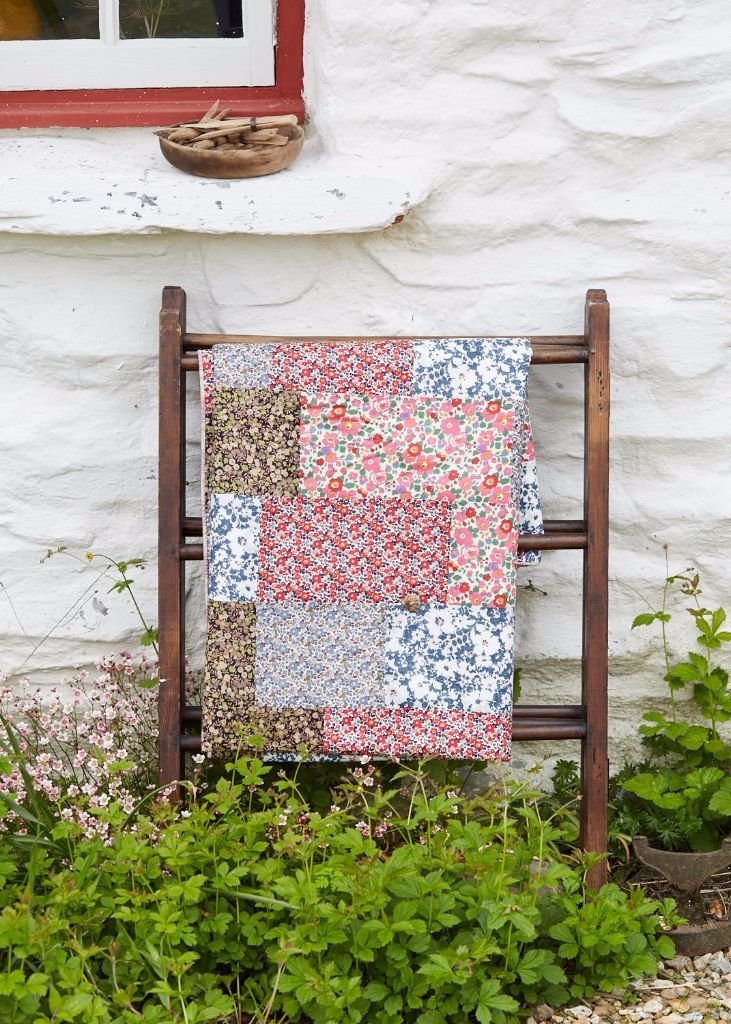 Liberty Of London Tana Lawn Summery Cotton Patchwork Quilt
