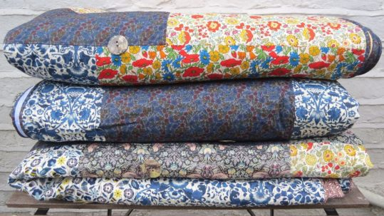 Liberty of London Tana Lawn Summery Patchwork Quilts