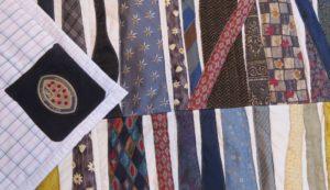 a tie quilt