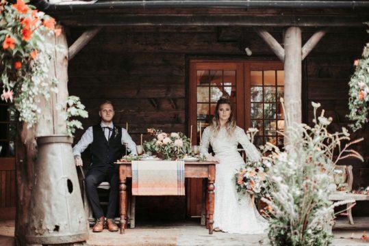 Coppermines photo shoot - the happy couple