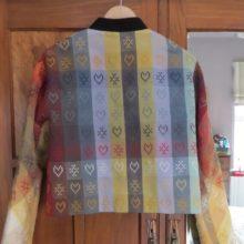Back of Folklore Fabric Jacket