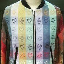 close up of Folklore Fabric jacket