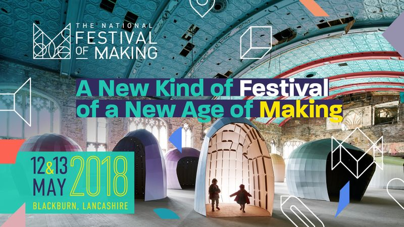 Find me with lots of talented fellow creatives at the Makers Market in King Georges Hall, Blackburn 12&13 May 2018
