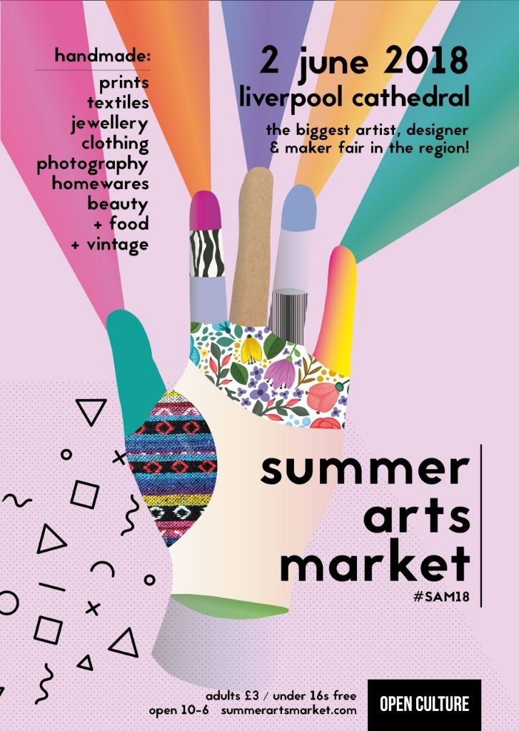 Summer Arts Market held in Anglican Liverpool Cathedral
