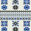 This blanket design has been inspired by Fair Isle knits