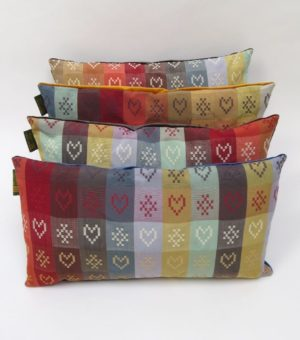 These cushions will compliment any interior scheme and are a real colour tonic to counteract dreary days.
