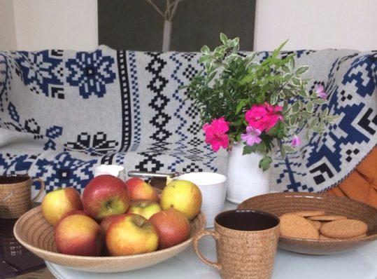 BIG Fair Isle Design Knitted British Woollen Blanket