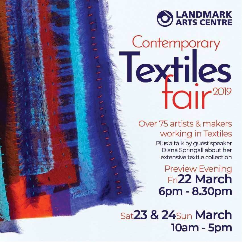 http://www.landmarkartscentre.org/events/exhibitions-and-fairs.php#e190322